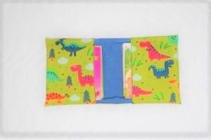 Handgemachte  Mini Buch Tasche, Mini Buchhülle,  Büchertasche, Aufbewahrungstasche für Bücher - Handarbeit kaufen