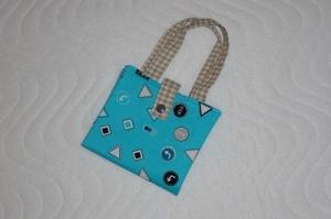 Handgemachte Mini Buch Tasche, Buchhülle, Büchertasche, Aufbewahrungstasche für Bücher - Handarbeit kaufen