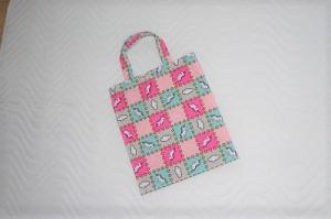 Handgemachte Kindertasche, Stofftasche mit Einhorn Motiv von KaPuMo - Handarbeit kaufen