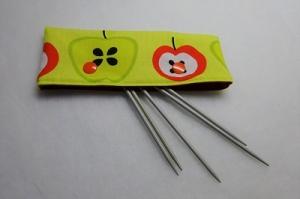 Stricknadelspiel Projekttasche Stricknadeltasche Aufbewahrung für 15 cm Nadelspiel  - Handarbeit kaufen