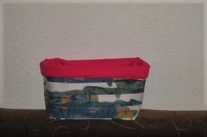 (L) Utensilo, Aufbewahrung, Stoffkorb, Handgemacht von KaPuMo - Handarbeit kaufen