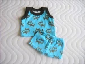 Handgemachte Puppenkleider Unterwäsche Hemd & Hose Jungs ca. 43 cm  - Handarbeit kaufen