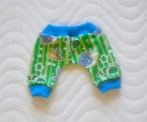 Handgemachte Pumphose für Puppen Eulen Motiv ca. 46-48 cm - Handarbeit kaufen