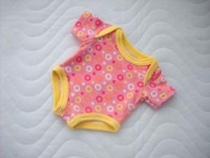 Puppenkleidung Puppen Body Unterwäsche Baumwolljersey ca. 36-38 cm   - Handarbeit kaufen