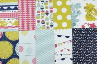 Designerpapier Straßenfest Probepaket Stampin Up