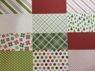 Designerpapier Fröhliche Feiertage Probepaket Stampin Up