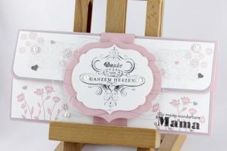 Konzertkartenverpackung zum Geburtstag für Muttern oder zum ♡ Muttertag ♡