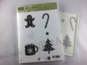 Stempelset ☆ Scentsational Season ☆ Stampin Up gebraucht.