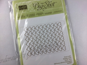 Prägeform Herzen NEU Stampin Up Embossing Folder