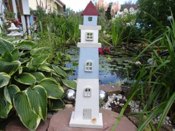 Maritimer Leuchtturm als ideale Sommer Dekoration