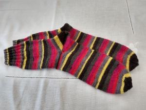 Handgestrickte Socken Gr. 42/43   - Handarbeit kaufen