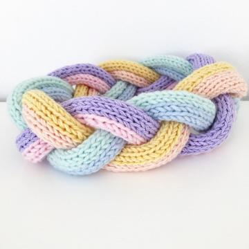 DAWN - geflochtenes Strickstirnband im Gucci Look - Handarbeit kaufen
