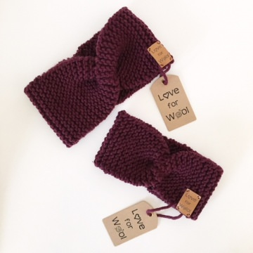 TILDA - Kinderstirnband mit Twist - Handarbeit kaufen