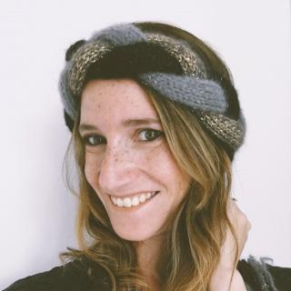 DAWN -  cooles, geflochtenes Stirnband, 3-farbig - Handarbeit kaufen