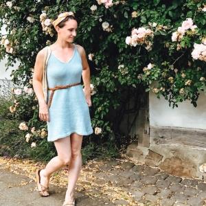 MARY JANE Kleid Strickanleitung - Handarbeit kaufen