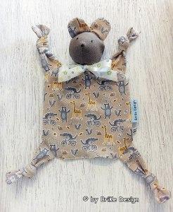 Schnuffeltuch ♡Mausi♡ Tiere - Schmusetuch - Kuscheltuch zum Knuddeln und Liebhaben! handmade BriKe Design - Handarbeit kaufen