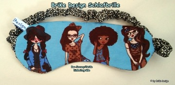 ☆stylische Schlafbrille☆ sorgt für Entspannung pur! handmade BriKe Design
