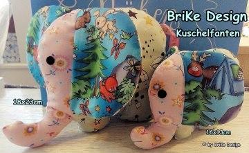 ♥Kuschelfanten-Set♥ Waldtiere♥ zum Liebhaben und Kuscheln! handmade BriKe Design
