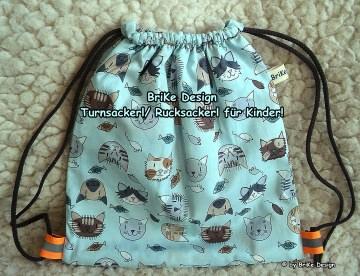 ♡Turnsackerl oder Rucksackerl♡ für Kindergarten oder Schule! handmade BriKe Design - Handarbeit kaufen