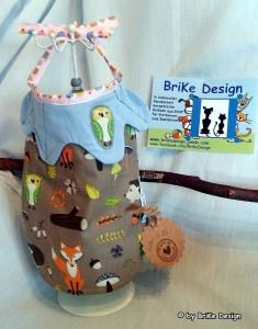 ♡Lätzchen Waldtiere mit Kragen♡ handmade BriKe Design  - Handarbeit kaufen