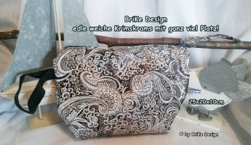 ☆Krimskrams-Tascherl silber/edel☆ handmade BriKe Design - Handarbeit kaufen