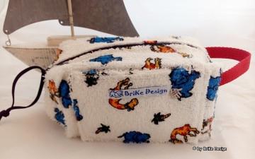 ♡Krimskrams-Tascherl bunte Tiere♡ handmade BriKe Design - Handarbeit kaufen