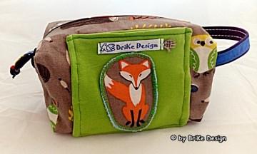 ♡Krimskrams-Tascherl Waldtiere♡ handmade BriKe Design - Handarbeit kaufen