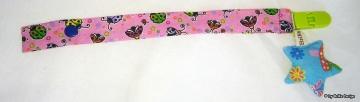 ♡Band Sternchen♡ rosa/blauer Stern♡ handmade BriKe Design  - Handarbeit kaufen