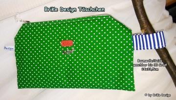 ☀Krimskrams-Täschchen Punkte☀ handmade BriKe Design  - Handarbeit kaufen