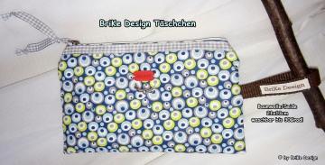 ☀Krimskrams-Täschchen Augen☀ handmade BriKe Design  - Handarbeit kaufen