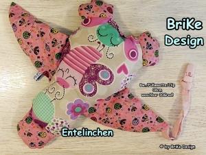 ♡Entelinchen Marienkäfer♡ zum Liebhaben und Kuscheln! handmade BriKe Design  - Handarbeit kaufen