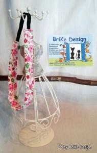 ☆Haarband rosa Blumen/breit☆ handmade BriKe Design - Handarbeit kaufen