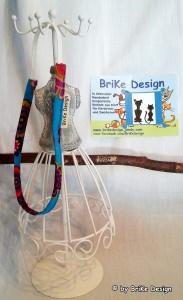 ☆Haarband türkis Blumen/schmal☆ handmade BriKe Design  - Handarbeit kaufen