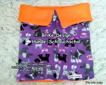 ☀Hunde-Schlauchschal☀ handmade BriKe Design  - Handarbeit kaufen