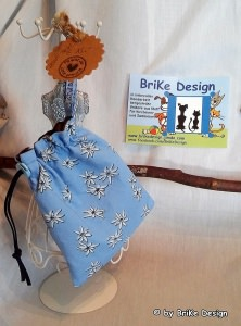 ♡Hunde-Leckerli-Beutel Edelweiss♡ handmade BriKe Design  - Handarbeit kaufen