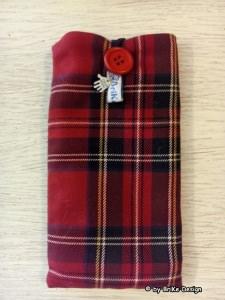 ☀Handy-Tascherl/ Brillen-Tascherl karo☀ handmade BriKe Design - Handarbeit kaufen