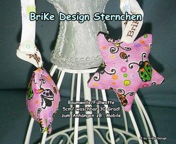 ♡herziges Sternchen *Marienkäfer* für Mobile♡ handmade BriKe Design - Handarbeit kaufen
