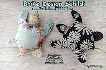 ♡Schildi *Welt*♡ zum Liebhaben und Kuscheln! handmade BriKe Design    - Handarbeit kaufen
