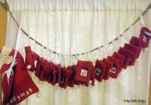 ☆Adventssackerl-Kalender☆ ☆Christmas☆ ☆Einzelstück☆ handmade BriKe Design - Handarbeit kaufen