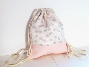 Rucksack Kunstleder rosa