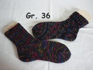 handgestrickte Socken Gr. 36 , handgestrickte Strümpfe