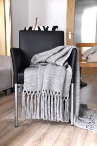 Strickdecke   Blanket : Woven in love