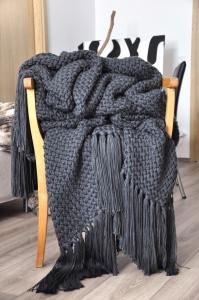 Strickdecke   Blanket : Cross the dark lines toward the light