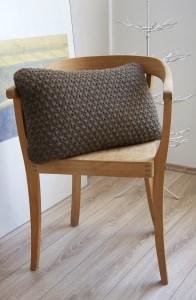 Strickkissen   Pillow : A brick in the pillow