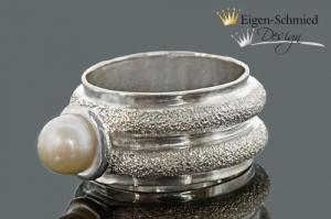 Goldschmiede Silberring