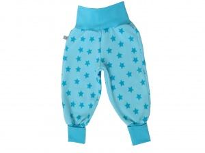 Warme Mitwachshose für Babys und Kleinkinder in blau türkis