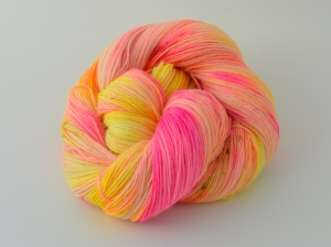 Merino Sockyarn Base - 4 fädig - handgefärbt - LL 420/100g - Color No. 26