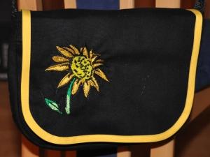 Wechselklappe Sonnenblume für Handtasche Buntklee - Handarbeit kaufen