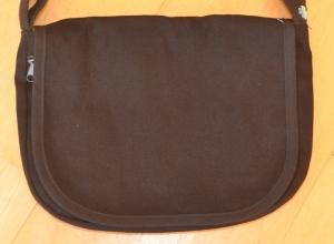 Wechselklappe schwarz für Handtasche Buntklee