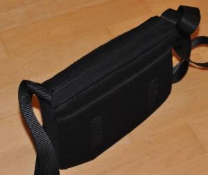 Handtasche Buntklee mit Wechselklappe - Grundtasche   - Handarbeit kaufen